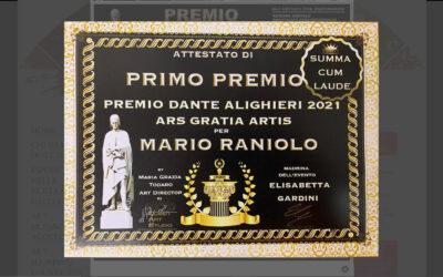 Premio Dante Alighieri – 1° PREMIO